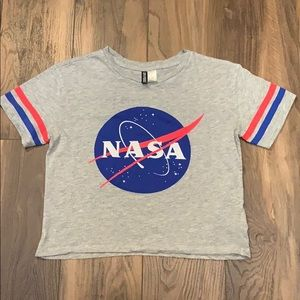 Women's NASA Crop Top Tee
